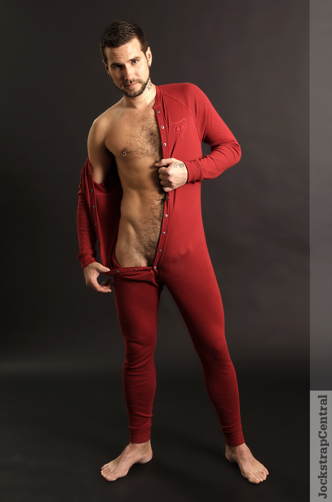 Nasty Pig Union Suit modeled by Jockstrap Central model Adam Stray