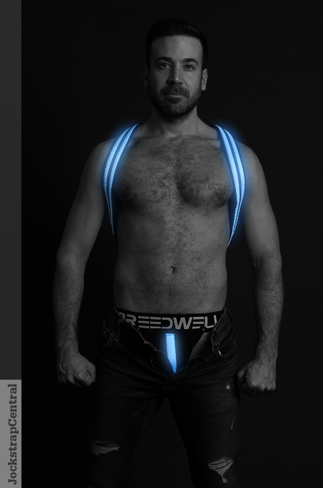 Breedwell Glow Suspenders / Harness