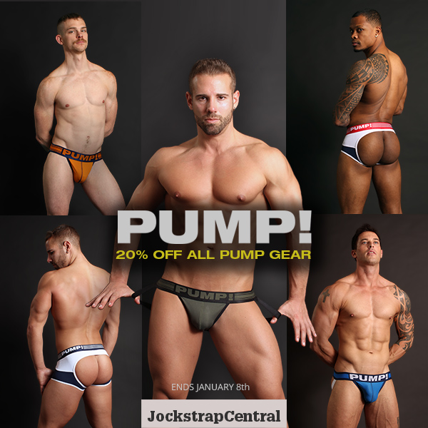 PUMP! Sale at Jockstrap Central