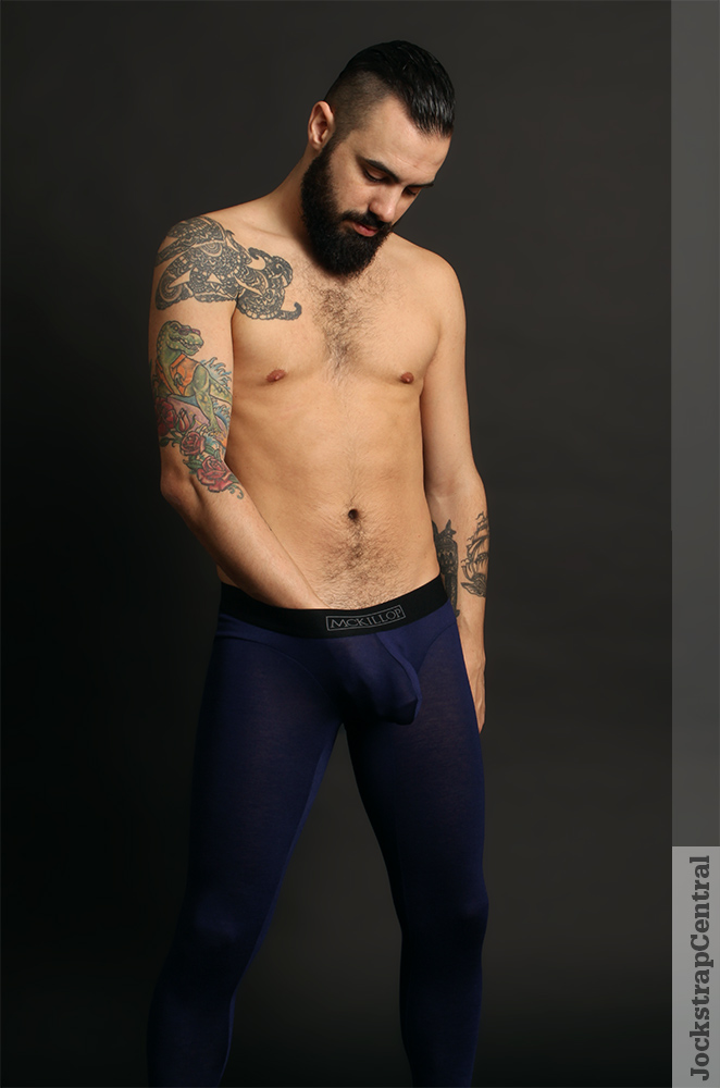 McKillop Max Bulge Long Johns with Cock Ring