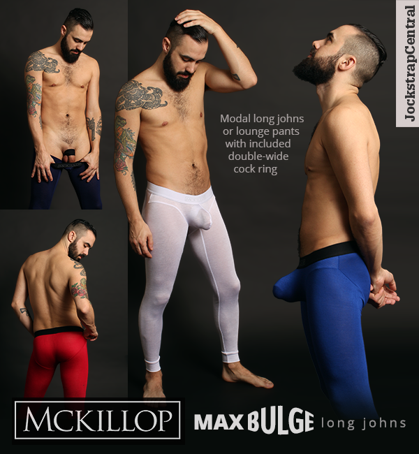 McKillop Max Bulge Long Johns at Jockstrap Central