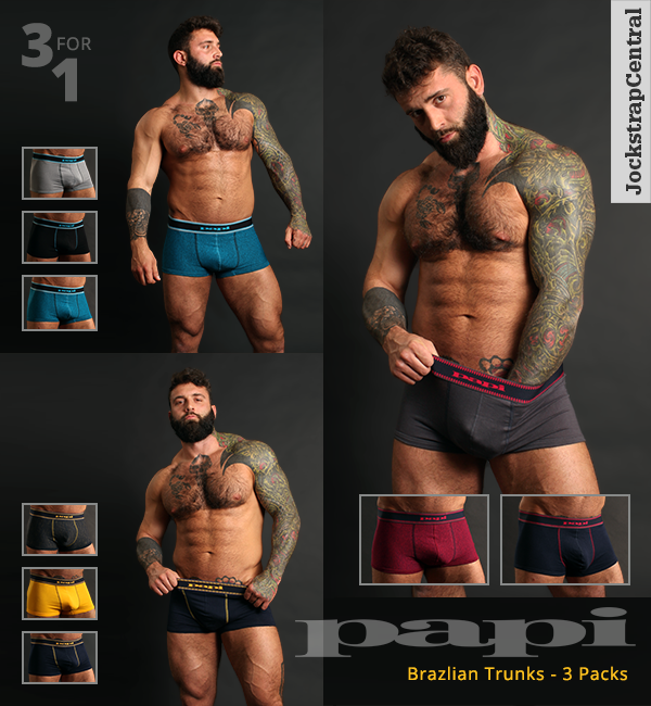 Papi Brazilian Trunks 3 Packs