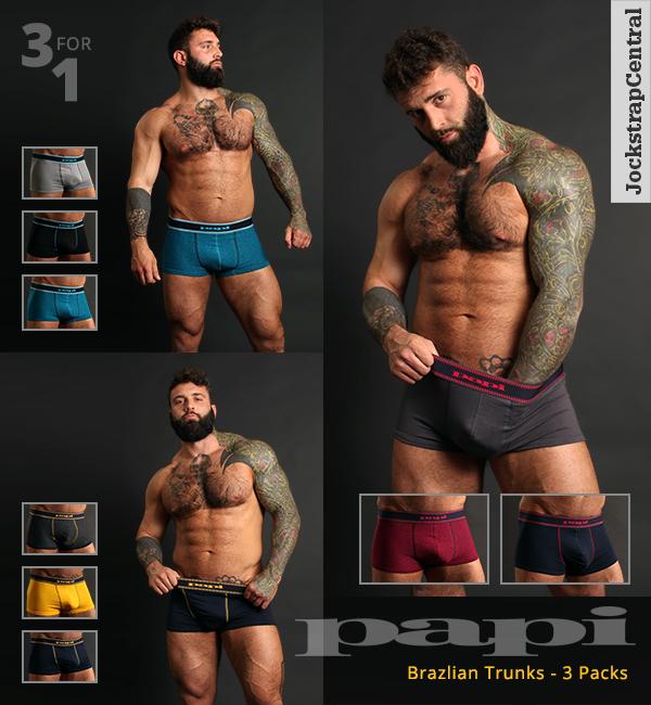 Papi Brazilian Trunks 3 Packs