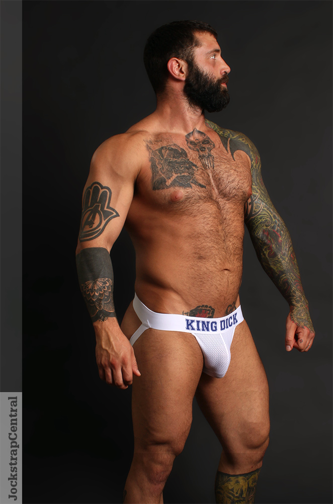 Markus Kage in a KING DICK Jockstrap