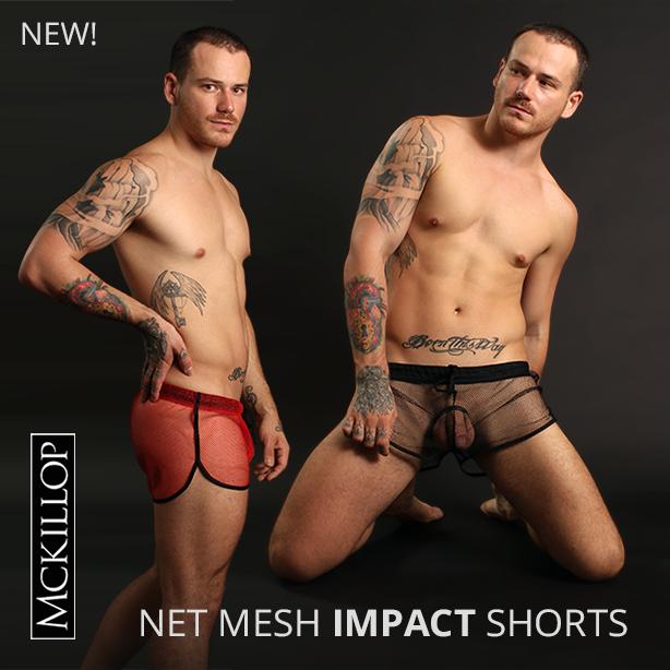McKillop Net Mesh Impact Shorts